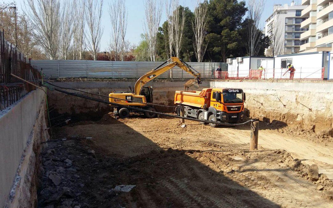 El problema del agua en las excavaciones