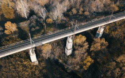 Construcción de cimentaciones en puentes